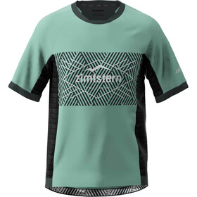 Zimtstern TechZonez Maglia A Maniche Corte Uomo, granite green/pirate black/glacier grey